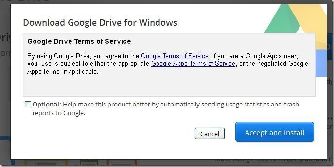 google drive program